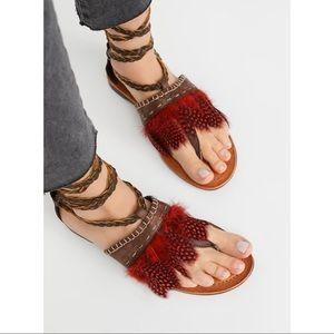 Free People Bora Bora Tie Sandal